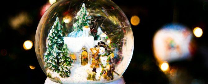 karácsony hógömb Száva blogja