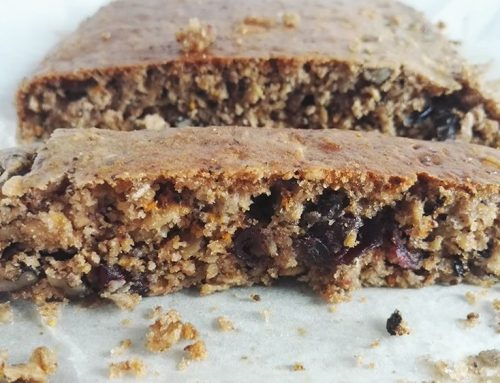 Zabpelyhes süti vörösáfonyával és chia maggal – Felkapom&egészséges